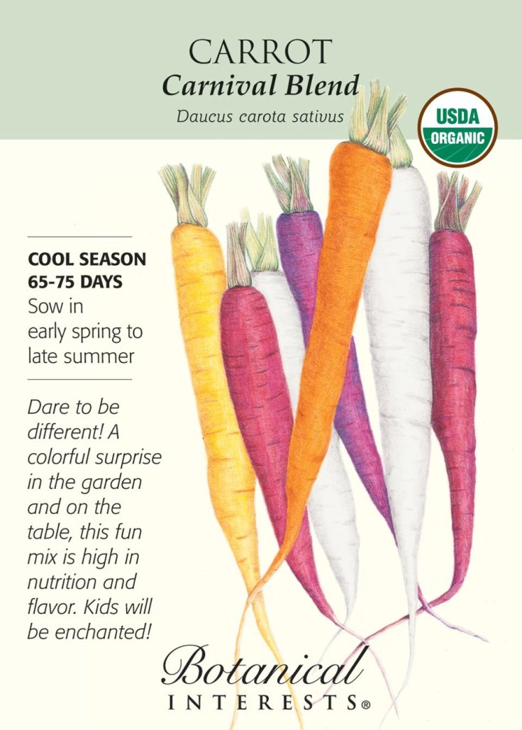 carnival mix carrots